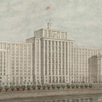 2-й дом СНК в Москве (Арх. Л.М. Поляков, 1941 г.)
