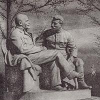 Ленин и Сталин в монументальной скульптуре Москвы