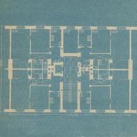 Рациональное расселение – основа проектирования жилой секции (Арх. И.Л. Длугач, 1941 г.)