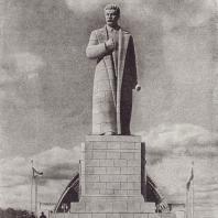 С.Д. Меркуров. И.В. Сталин. (Гранит. 1939)