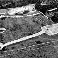 Ансамбль Бухенвальд. Вид с самолета