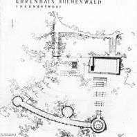 План ансамбля Бухенвальд. 1954 г.