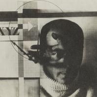 Эль Лисицкий. Автопортрет «Чертеж». Фотомонтаж. 1924 г.