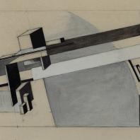 Эль Лисицкий. Проун «Мост». 1919