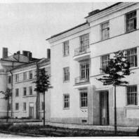 Дома в начале Тракторной улицы