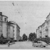 Начало внутриквартальной улицы-проезда на Серафимовском участке