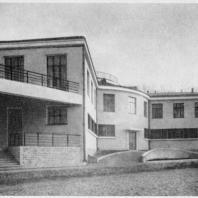 Больница имени С.П. Боткина в Ленинграде. Фотография выстроенного здания прозекторской