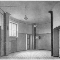 Больница имени С.П. Боткина в Ленинграде. Вид помещения предвыносной (вестибюля)