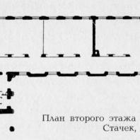 План второго этажа школы на улице Стачек, 94/96