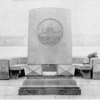 Мемориальная стела крейсера «Аврора»
