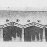 Проект сарая для гребных судов (арх. А. Захаров)