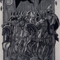 В.А. Фаворский. Иллюстрация к «Слову о полку Игореве». Гравюра на дереве. 1948 — 1950 гг.