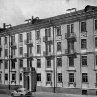 Рис. 1. Каркасно-панельный дом на Хорошевском шоссе в Москве