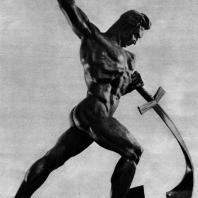 12. Е. Вучетич. Перекуем мечи на орала. 1957