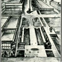Н.А. Троцкий. Проект памятника В. И. Ленину. Тушь. 1924 г.