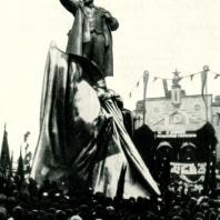 Открытие памятника 7 ноября 1926 г.
