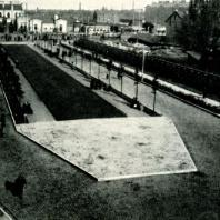 Аллея В.И. Ленина. 1927 г.