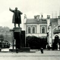Памятник В.И. Ленину. 1930-е гг.