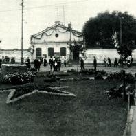 Место закладки памятника В.И. Ленину на площади у Финляндского вокзала. Апрель 1924 г.