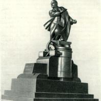 В.Ф. Разумовский. Проект памятника В.И. Ленину. 1924 г.