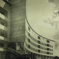 Жилой дом Ленинградского Совета. Главный фасад