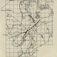 Схема линий московского метрополитена. Утверждена в 1932 г. (план № 2)