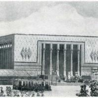 Ташкент. Кинотеатр «Родина». Вместимость 700 мест. Арх. А. Сидоров