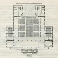 Ленинград Кинотеатр «Гигант». План второго этажа