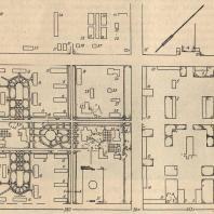 Рис. 2. Типовой проект генплана МТС (работа Сельхозпроекта НКЗ, 1934 г.)