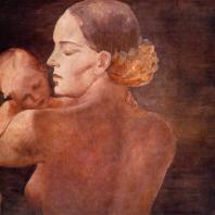А.А. Дейнека. Мать. 1932 г. Москва, Третьяковская галерея
