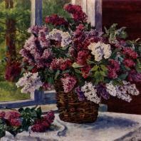 П.П. Кончаловский. Сирень. 1951 г. Собственность семьи художника