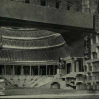 Дворец Советов. Большой зал. Модель
