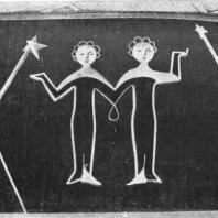 Московский Дворец пионеров. Планетарий, фрагмент декоративного оформления фойе