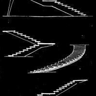 Московский Дворец пионеров. Схемы лестниц