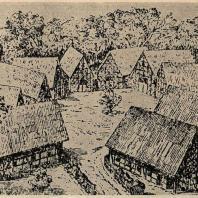 Рис. 3. Старая «круговая» деревня славян