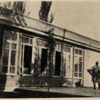 Рис. 16. Клуб в колхозе вблизи Бухары