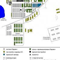 Концентрационный лагерь «Равенсбрюк». План
