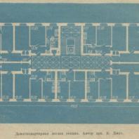 Девятиквартирная жилая секция. Автор арх. К. Джус