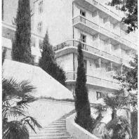 Сочи. Институт имени Сталина. Санаторий № 7. Спальный корпус. Академик А.В. Щусев. 1928