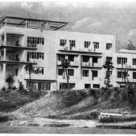 Сочи. Санаторий «Горный воздух». Академик В.А. Веснин и А.А. Веснин. 1931