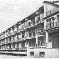Барвиха. Санаторий. Общий вид. Б.М. Иофан. 1935