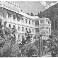 Санаторий «Абхазия» близ Сухуми. 1934