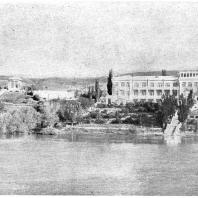 Станция Мелеховская на Дону. Дом отдыха шахтеров. 1936