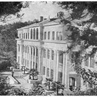 Хоста. Санаторий Всесоюзною Центрального Совета Профессиональных Союзов. 1937