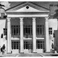 Дом отдыха «Истра» близ Москвы, Министерства Строительства Предприятий Тяжелой Индустрии. А.Я. Лангман. 1946