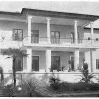 Сочи. Дом отдыха Министерства Легкой Промышленности. Н.Я. Колли. 1937