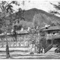 Бурят-Монгольская АССР. Курорт «Аршан». Санаторий. 1940