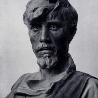 И.Д. Шадр. Сеятель. Фрагмент. Бронза. 1922 г. Москва, Третьяковская галерея