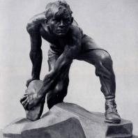 И.Д. Шадр. Булыжник — оружие пролетариата. Бронза. 1927 г. Москва, Третьяковская галерея