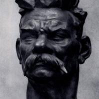 И.Д. Шадр. А.М. Горький. Бронза. 1939 г. Москва, Третьяковская галерея